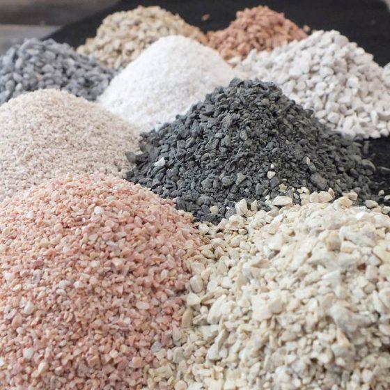 esempi di graniglie
